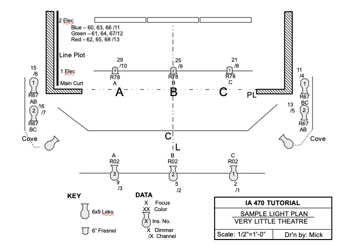 [XOTG_4463]  How to Read a Light Plot   Wiring Diagram For Entertainment Lighting      IATSE Local 470