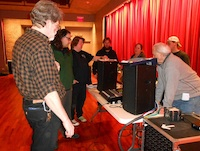 Digital mixer training