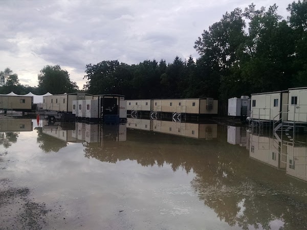 flooded trailer